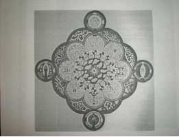 Mandala seen by male student