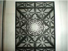 Mandala seen by a male student